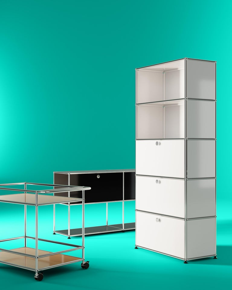 USM Haller Nightstand P Storage System For Sale 27