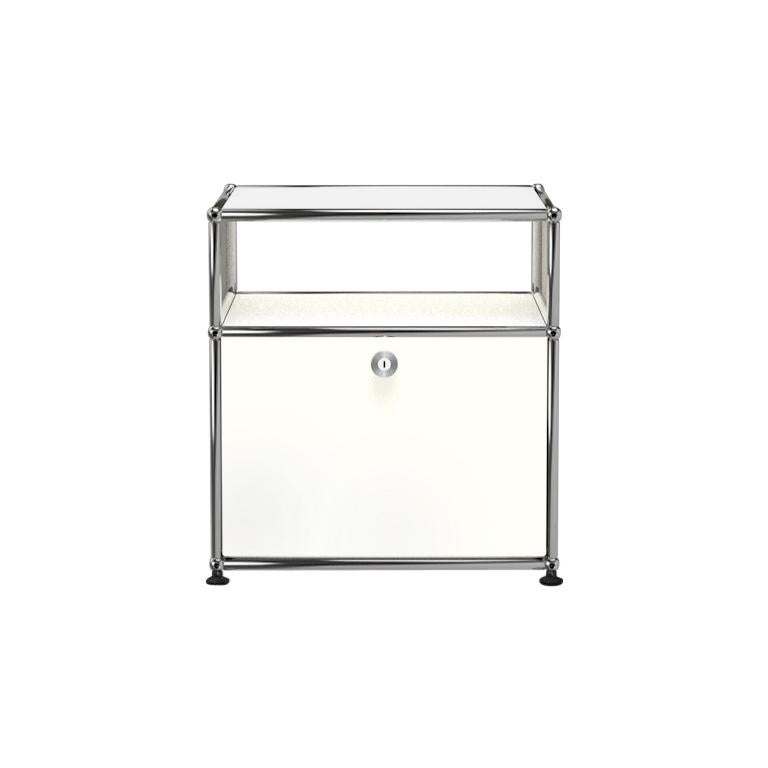 For Sale: White (Pure White) Haller Nightstand P Storage System by USM