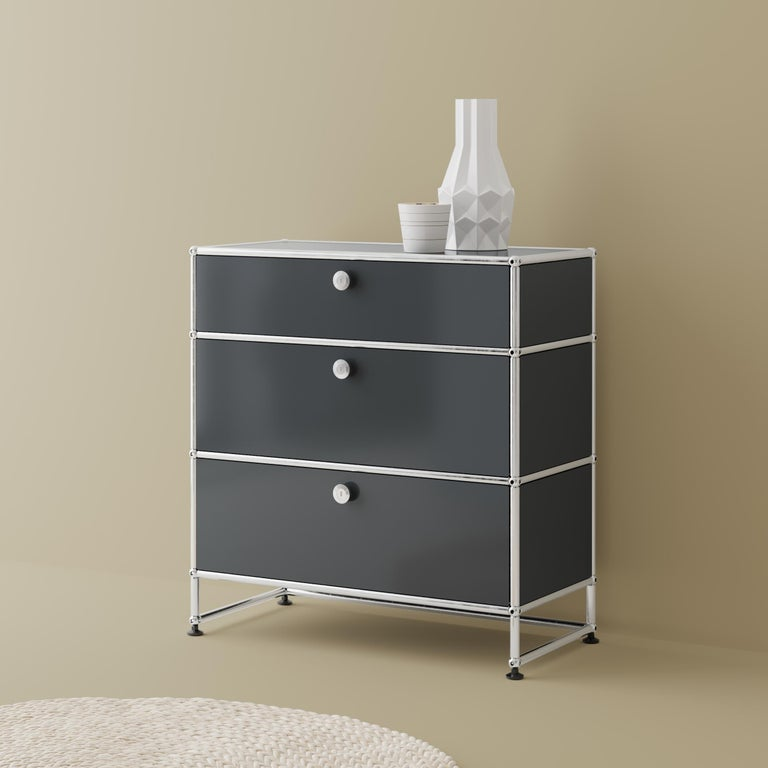 Haller Nightstand P1 Storage System by USM For Sale 30