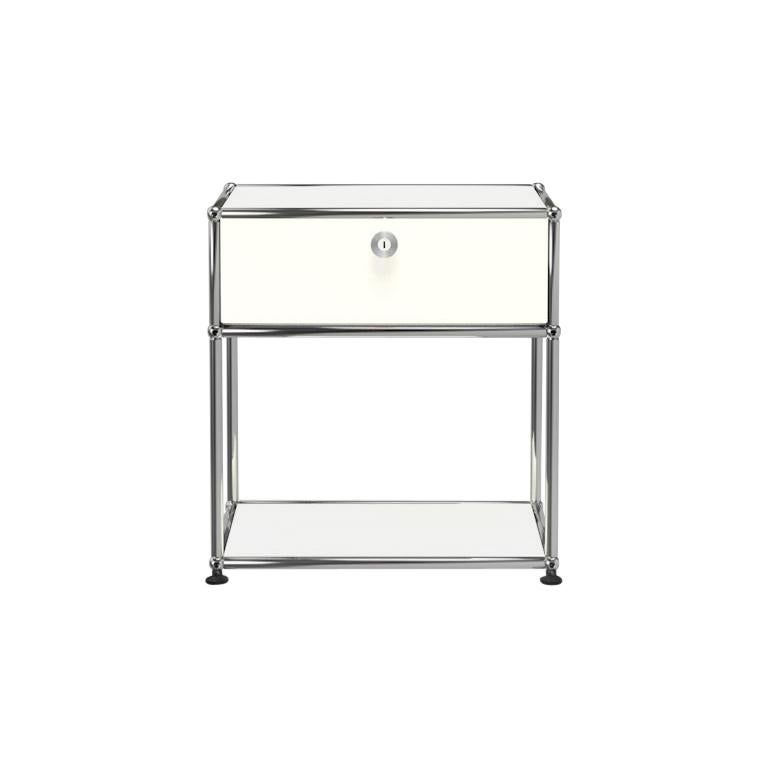 For Sale: White (Pure White) Haller Nightstand P2 Storage System by USM