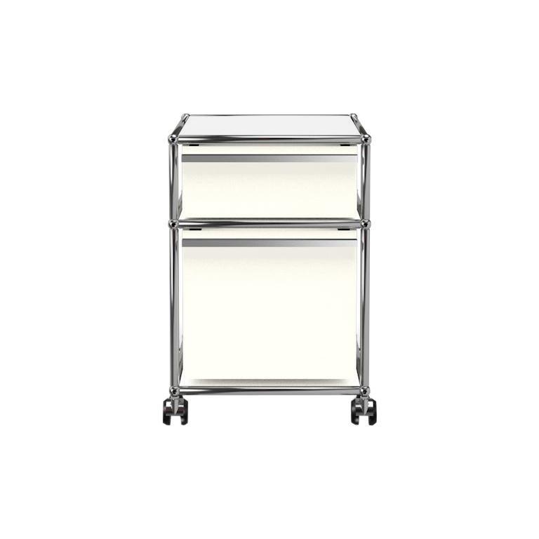 For Sale: White (Pure White) USM Haller Pedestal M Storage System