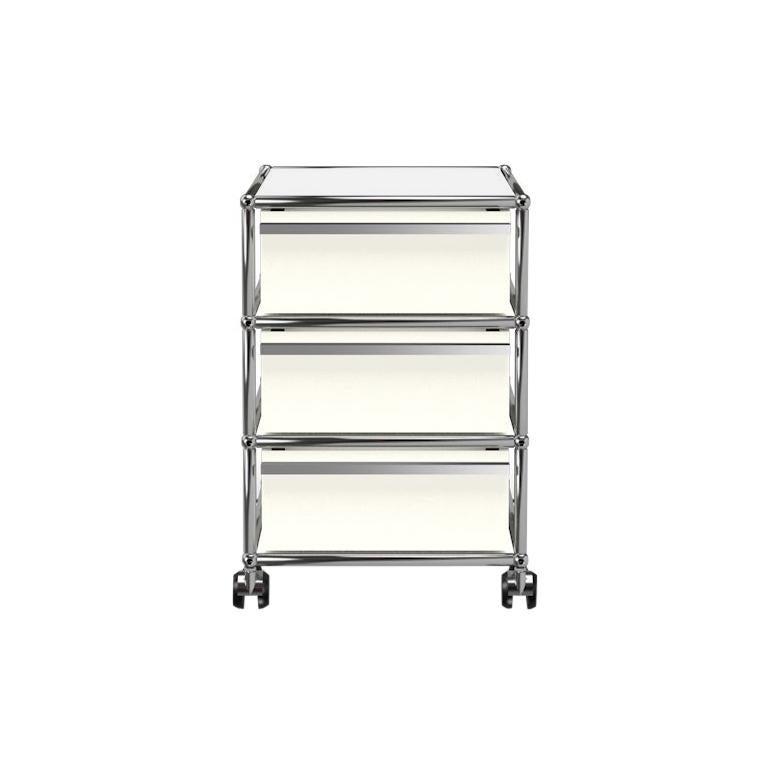 For Sale: White (Pure White) USM Haller Pedestal V Storage System