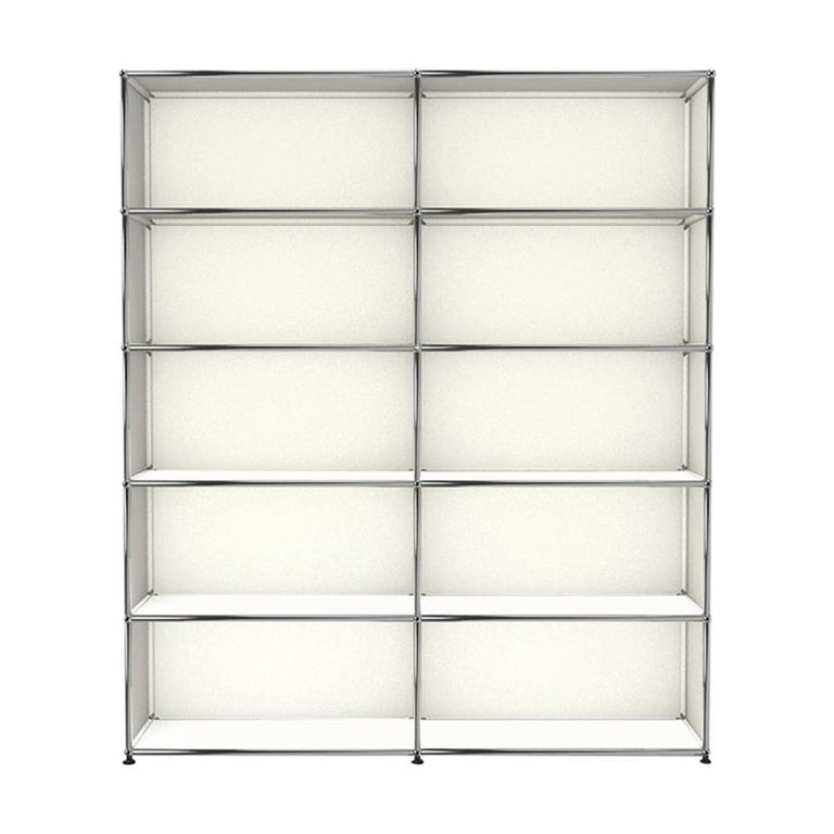 For Sale: White (Pure White) Haller Shelving H2 Storage System by USM