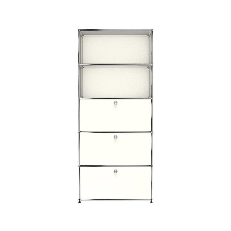 For Sale: White (Pure White) Haller Shelving Q118 Storage System by USM