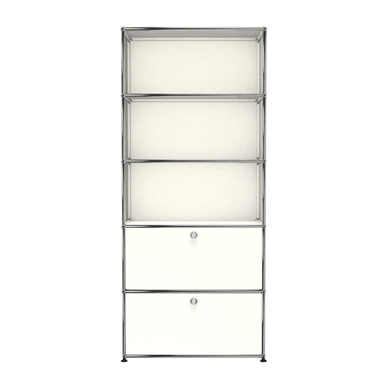 For Sale: White (Pure White) USM Haller Shelving R1 Storage System