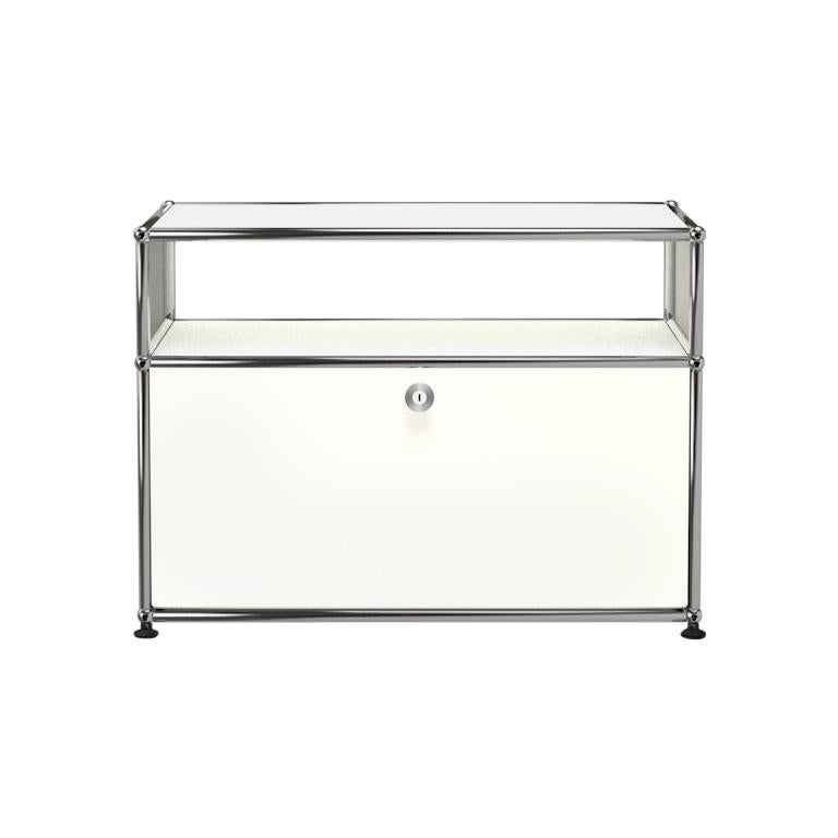 For Sale: White (Pure White) Haller Side Table 0118 by USM
