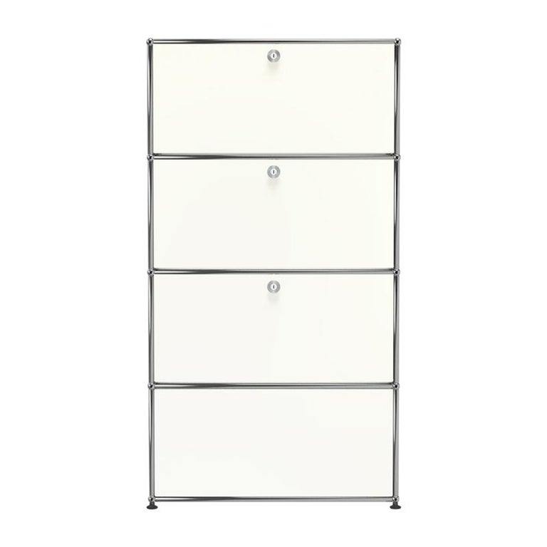 For Sale: White (Pure White) Haller Storage S118A Storage System by USM