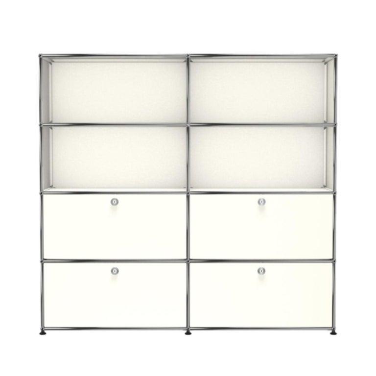 For Sale: White (Pure White) USM Haller Storage S2 Storage System