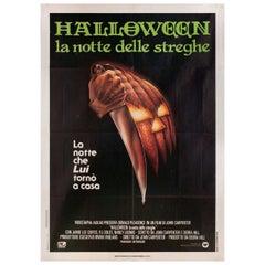 Halloween 1979 Italian Due Fogli Film Poster