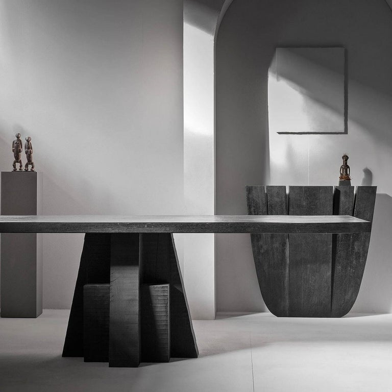 Modern Hallway Table, Signed by Arno Declercq For Sale