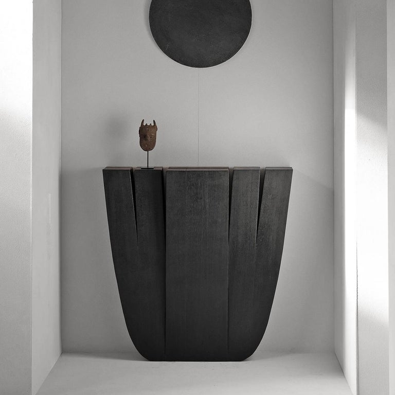Belgian Hallway Table, Signed by Arno Declercq For Sale