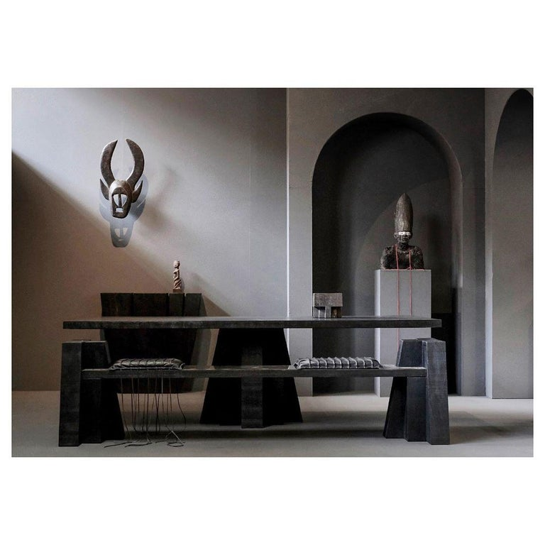 Hallway Table, Signed by Arno Declercq In New Condition For Sale In Collonge Bellerive, Geneve, CH