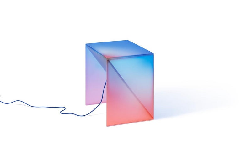HALO Gradient Color Glass Light 'Tall' by Studio Buzao For Sale 1