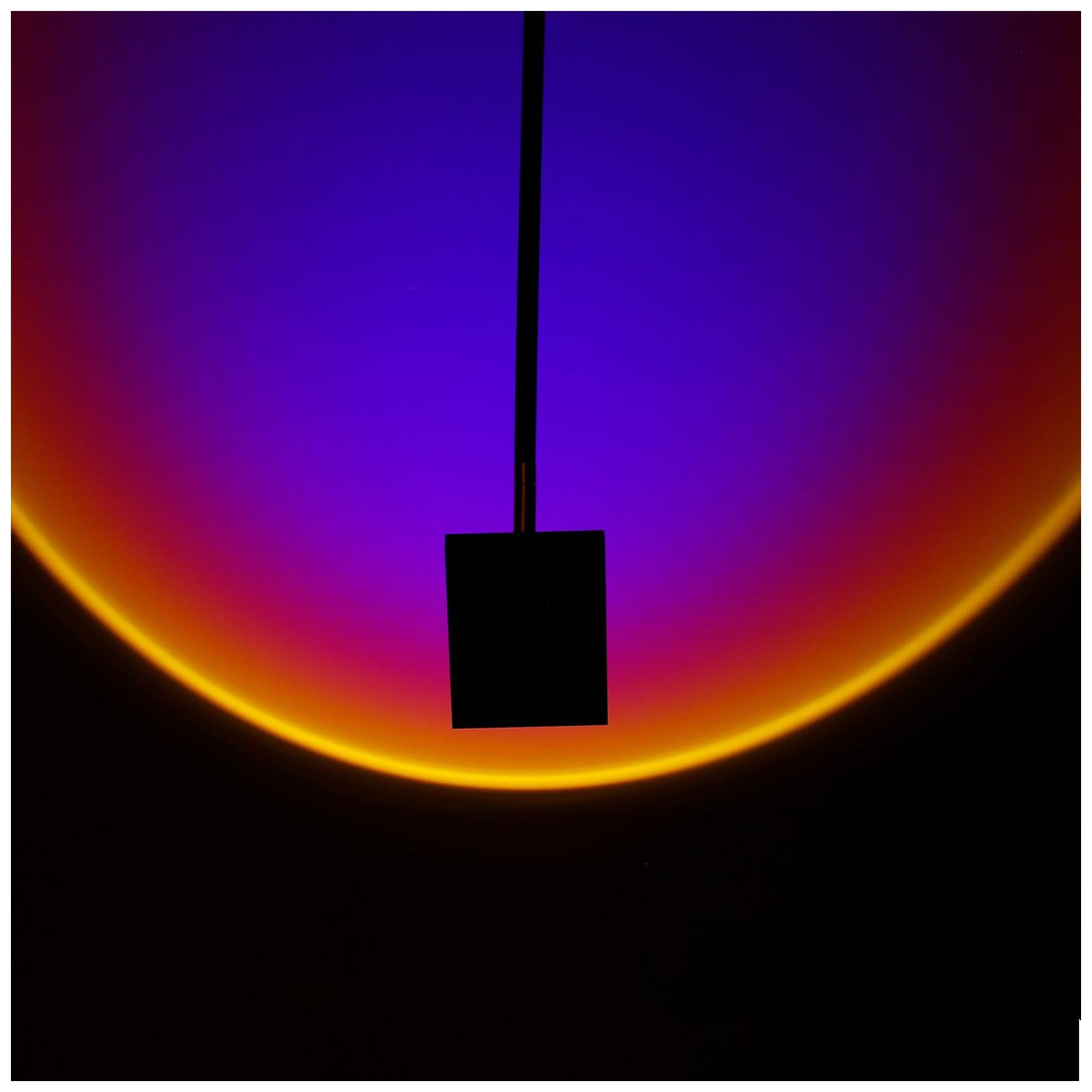 Halo Sky Deep Blue Ceiling Lamp in Aluminium by Mandalaki Studio