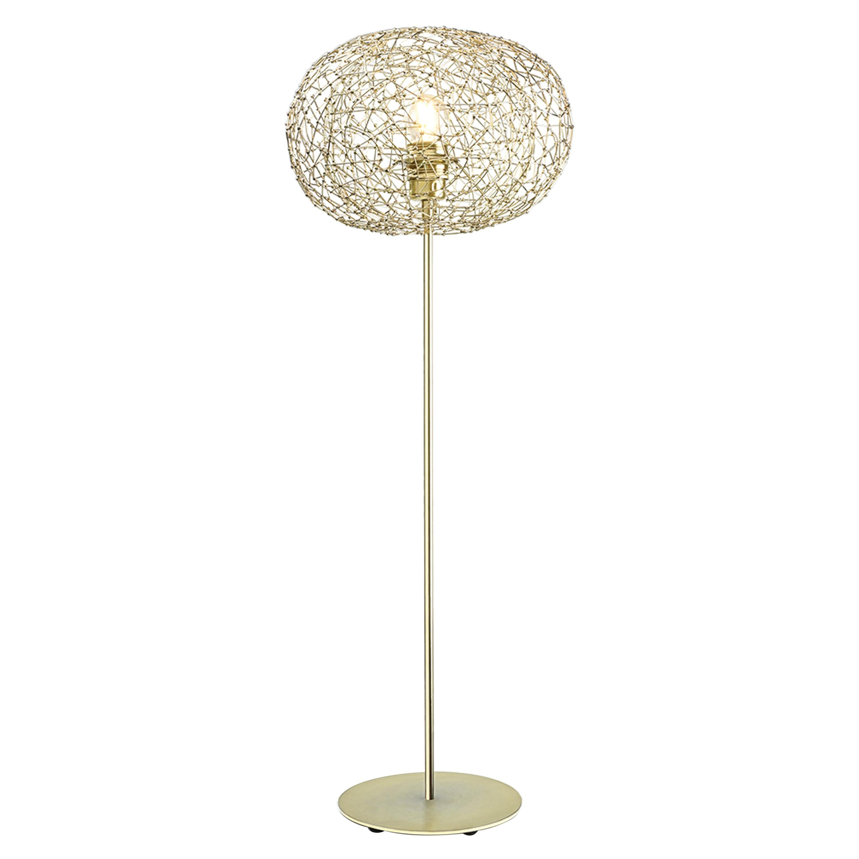 Halo Table Lamp by Ango, a Modern Sculptural Jewel like Lighting in 21st Century