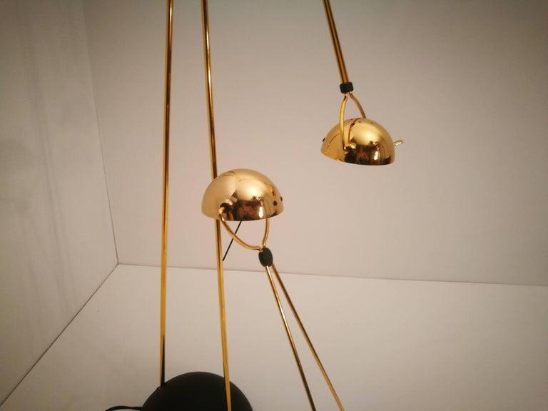 Late 20th Century Halogen Floor Lamp