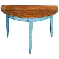 Hälsingland Demilune Table