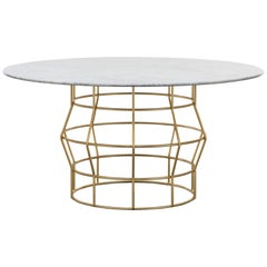 Halston Dining Table Marble