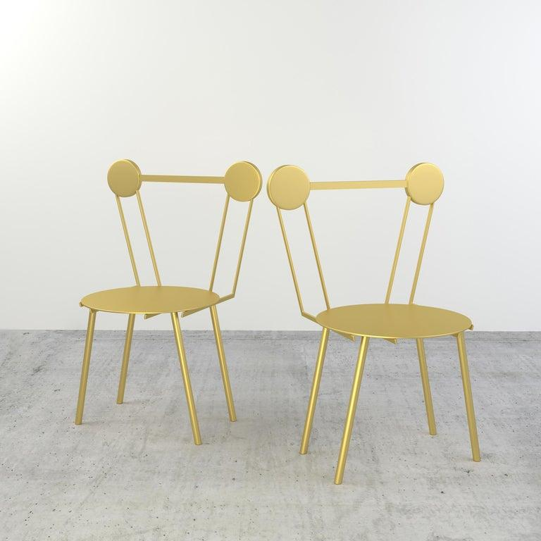 Other Haly Chair Gold For Sale