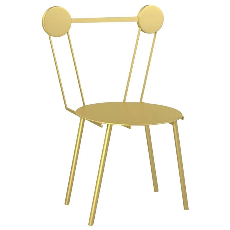 Haly Chair Gold For Sale