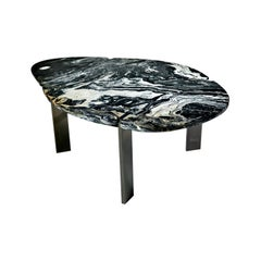Halys Coffee Table Black by Marble Balloon