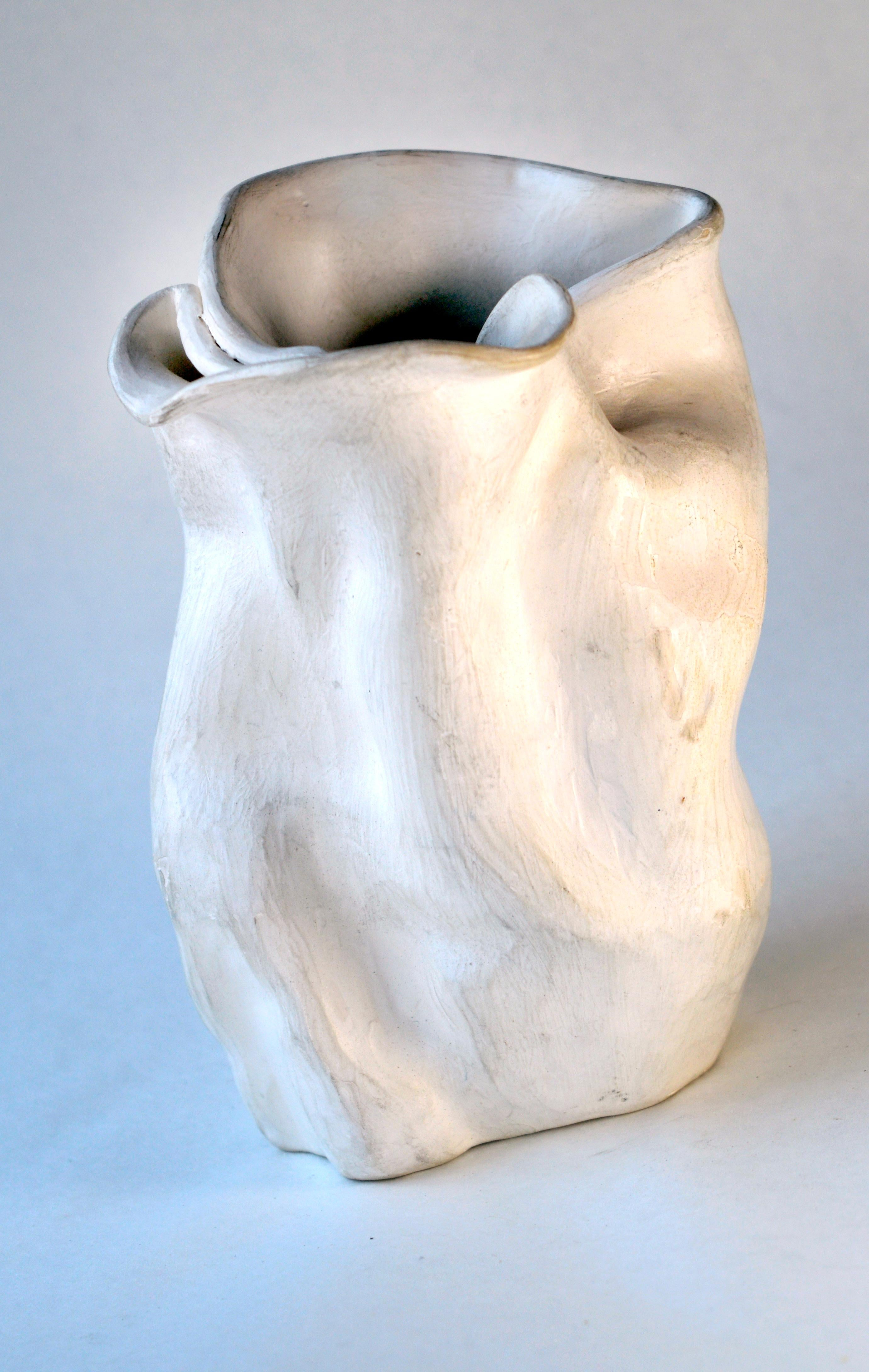 Early 1940s Abstract Pottery Vase #2 after George Ohr