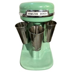 Hamilton Beach Milkshake Maker Vintage in Jadite Green