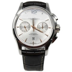Hamilton Jazzmaster Automatic Chronograph Model H32606555 Certified Pre-Owned