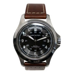 Hamilton Khaki Field H64455533, Case, Certified and Warranty