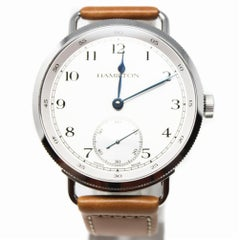 Hamilton Men's Mechanical Hand Winding Watch h78719553Certified Pre-Owned