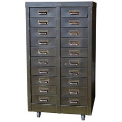 Hamilton Mfg. Steel Multi-Drawer Cabinet