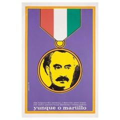 Hammer or Anvil 1974 Cuban Film Poster