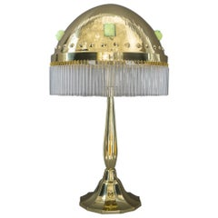 Hammered Art Deco Table Lamp, circa 1918s