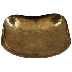 Hammered Brass Bowl, circa 1950s
