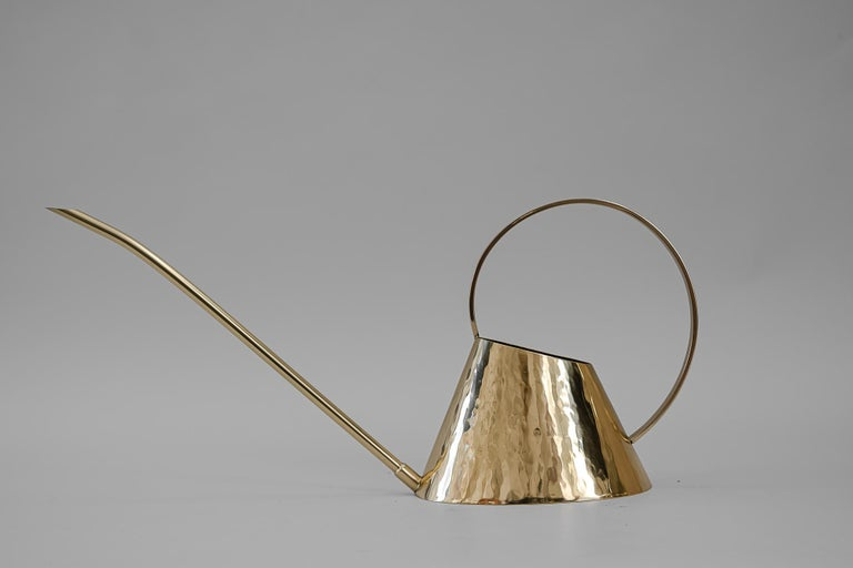 Mid-Century Modern Hammered Watering Can, circa 1950s For Sale