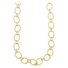Hammerman Bros. 14 Karat Yellow Gold Necklace