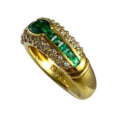 Hammerman Brothers Diamond and Emerald Band