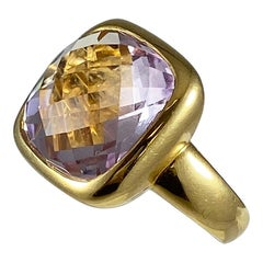 Hammerman Brothers Pink Amethyst Ring