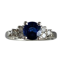 Hammerman Brothers Sapphire and Diamond Ring