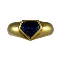 Hammerman Brothers Sapphire Kite Ring