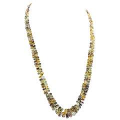 Hammerman Brothers Vintage 50 Carat Diamond Briolette Necklace