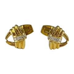 Hammerman Brothers Diamond Cufflinks