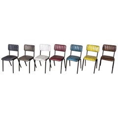 Hammerwich Ribbed Cafe Chair Range, 20th Century