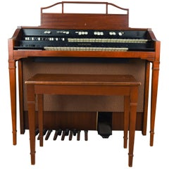 Hammond Model L-111A Tube Organ with Bench