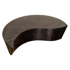 'Hampton' Tessellated Stone Coffee Table by Marquis Collection of Beverly Hills