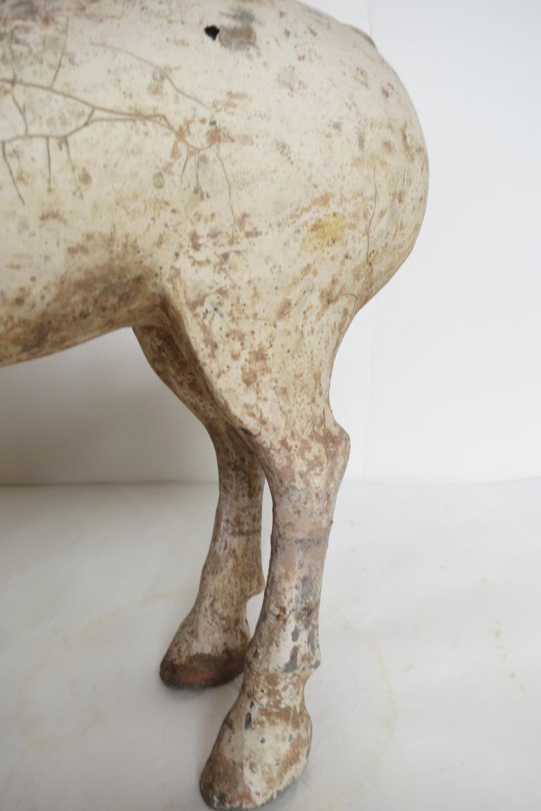 Han Dynasty Horse and Rider For Sale 6