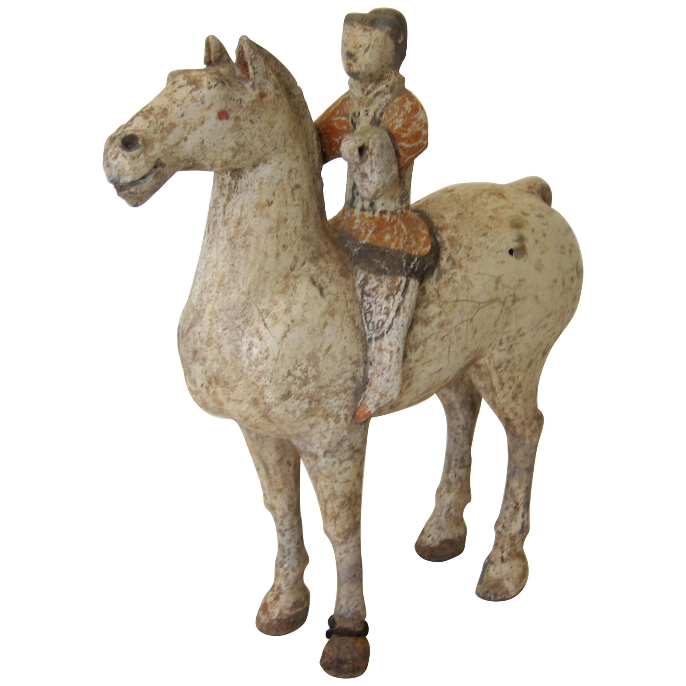 Han Dynasty Horse and Rider