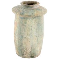 Han Dynasty Model of a Granary in Green Glazed Ceramic