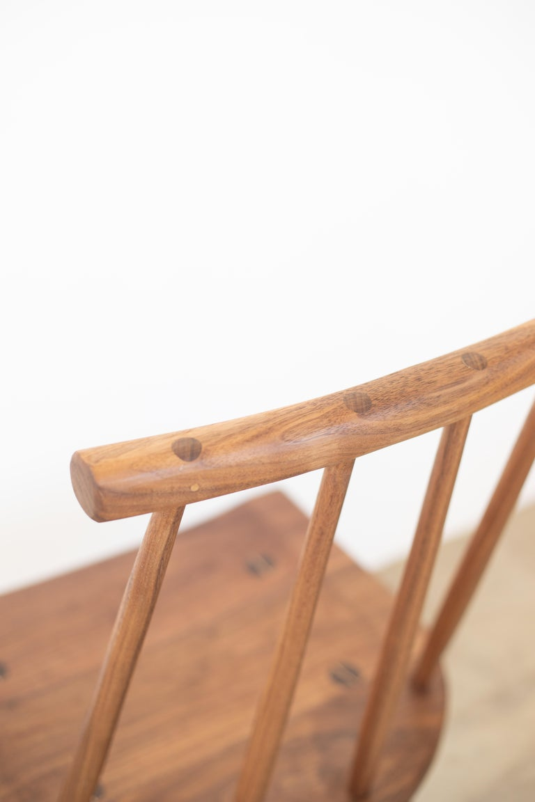 Anglo-Japanese Hana Dining Chair with Spindle Back in Stock For Sale