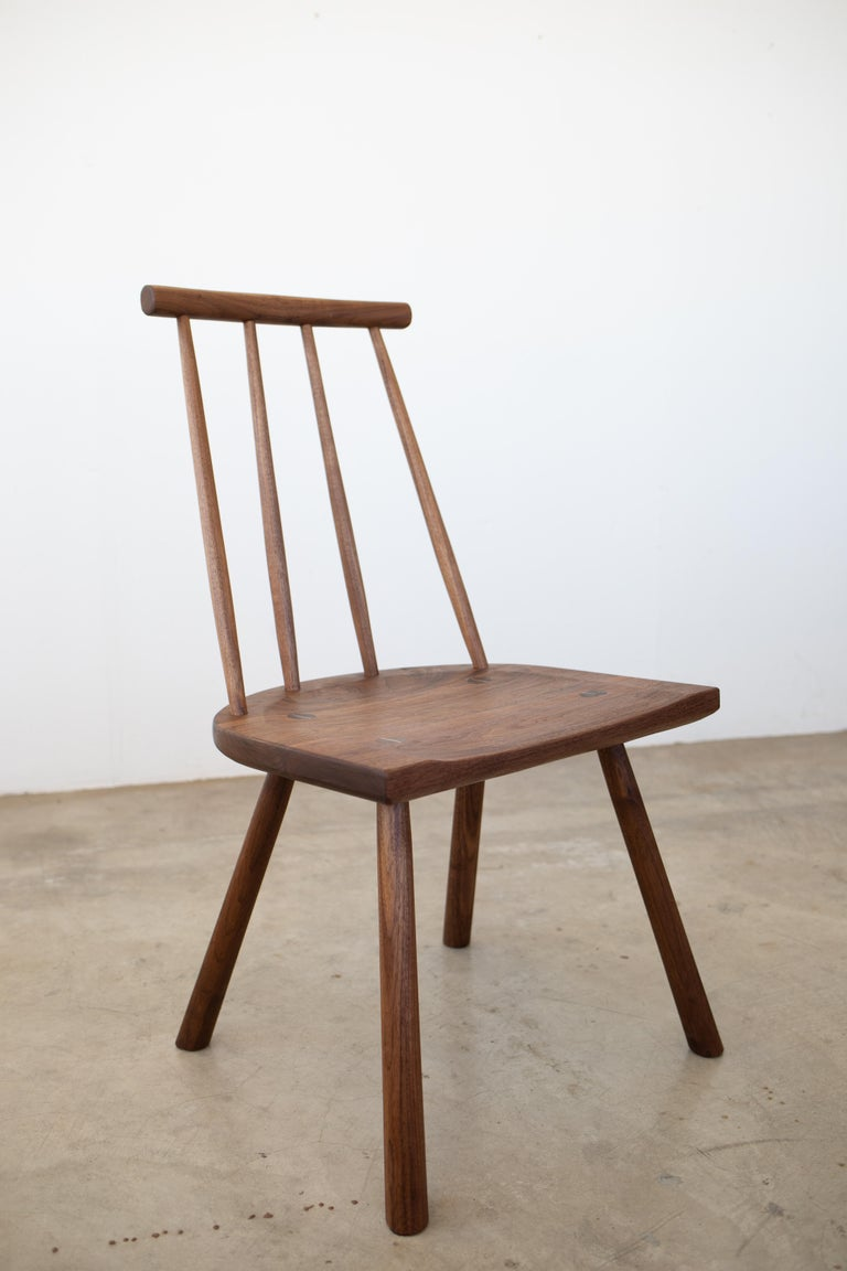 Joinery Hana Dining Chair with Spindle Back in Stock For Sale